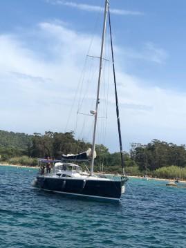 Alquiler de barcos Îles de Lérins barato de Elan 434