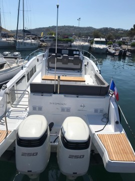 Alquiler de barcos Sainte-Maxime barato de Cap Camarat 9 CC