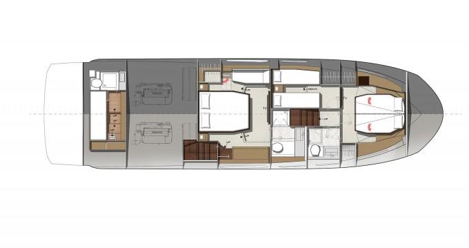 Alquiler Lancha en Split - Jeanneau Prestige 520 Flybridge