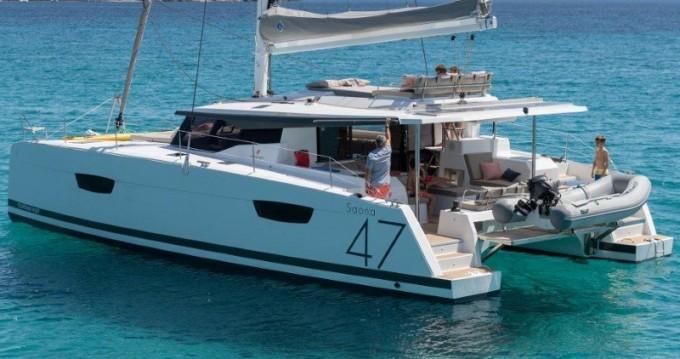 Catamarán para alquilar El Pireo al mejor precio