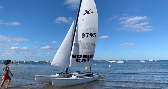 Alquiler Catamarán Hobie-Cat con título de navegación