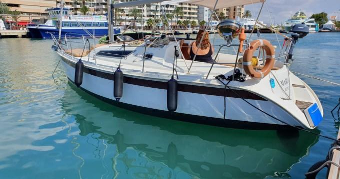 Alquiler Velero en Ibiza (Ciudad) - Jeanneau Sun Odyssey 28.1