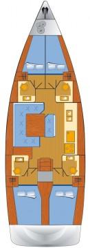 Alquiler de Jeanneau Sun Odyssey 479 en Punat