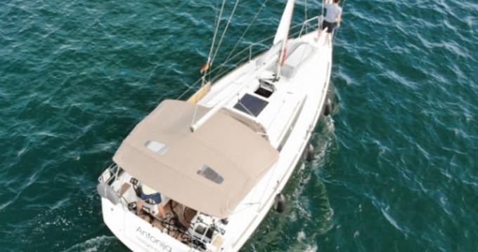 Jeanneau Sun Odyssey 349 entre particulares y profesional Punat