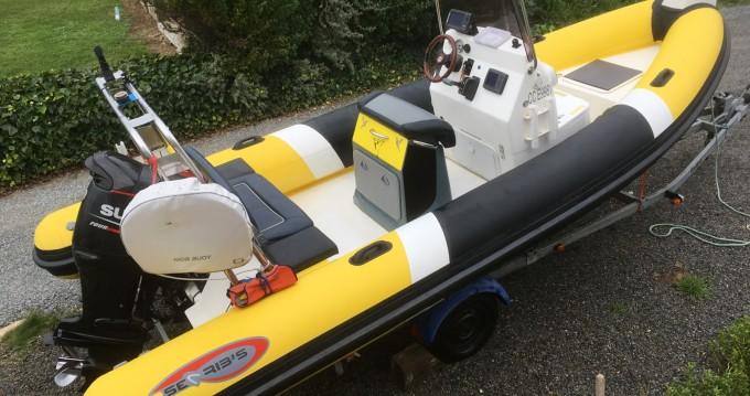 Alquiler de yate Moëlan-sur-Mer - Searib's 580 open en SamBoat