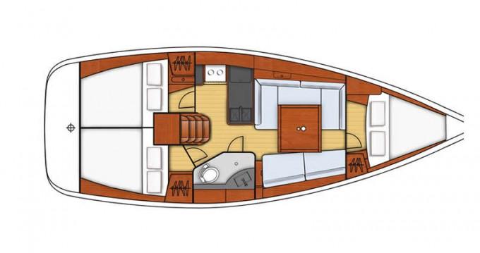 Alquiler de yate Altefähr - Bénéteau Oceanis 34 en SamBoat