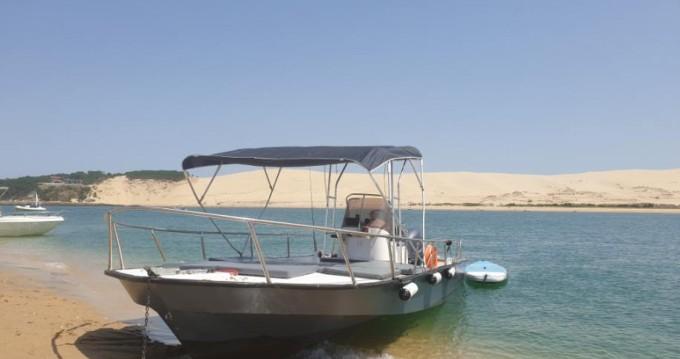 Alquiler Lancha Bpsa con título de navegación