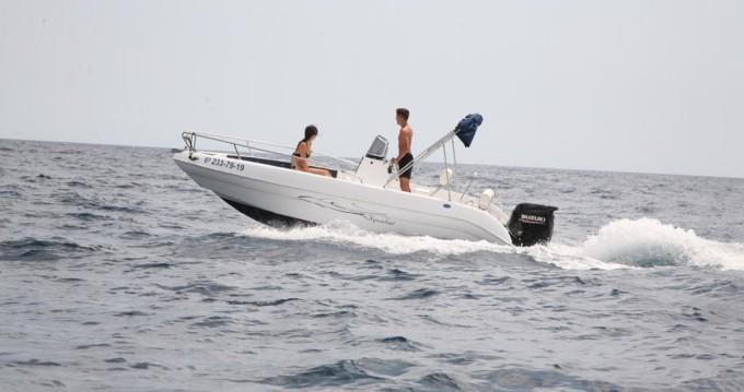Alquiler Lancha Aquabat con título de navegación