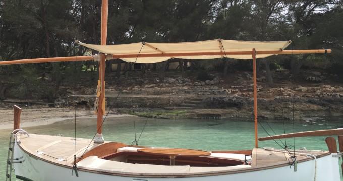 Alquiler de barcos Cala d'Or barato de LLaüt eléctrico