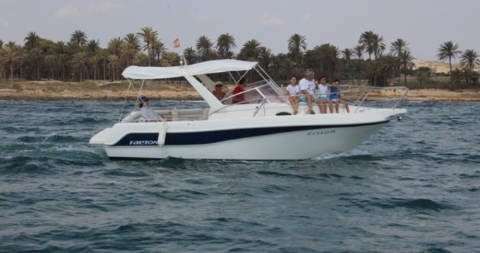 Alquiler de barcos Faeton Faeton 730 Sport enCabo Roig en Samboat