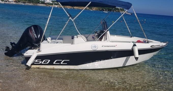 Alquiler de barcos Compass Compass 150 CC enAgía Pelagía en Samboat