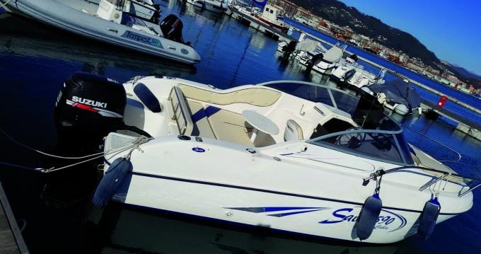 Alquiler Lancha en La Spezia - Saver 590 CABIN