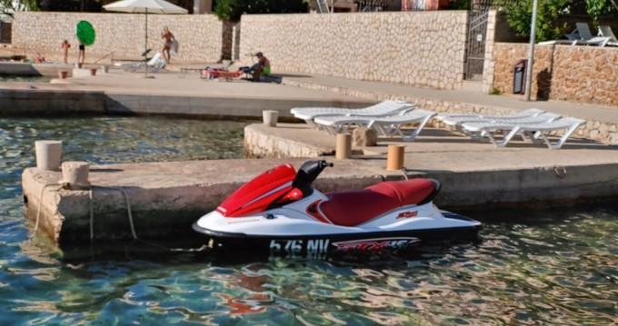 Alquiler de Moto de agua, con o sin patrón Kawasaki Stara Novalja