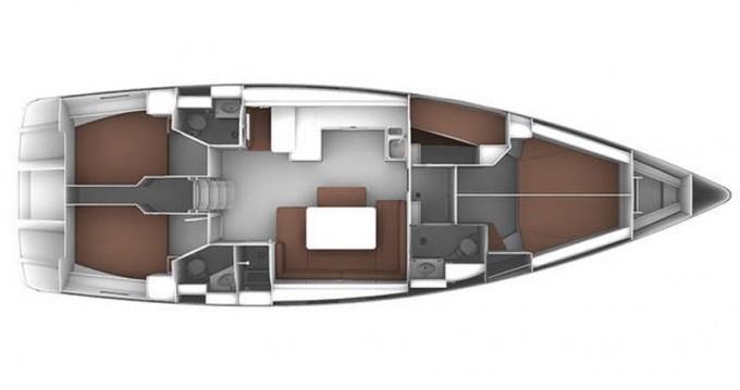 Bavaria Cruiser 51 entre particulares y profesional Préveza