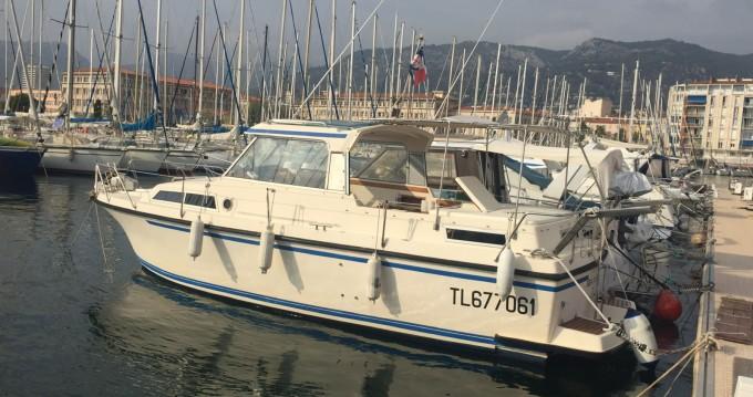 Lancha para alquilar Toulon al mejor precio