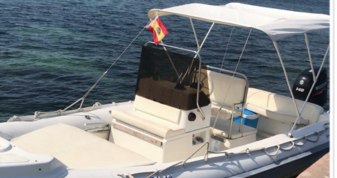 Alquiler de barcos Isla de Ibiza barato de G65