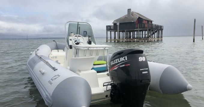 Alquiler de barcos Zodiac Pro Open 550 enAndernos-les-Bains en Samboat