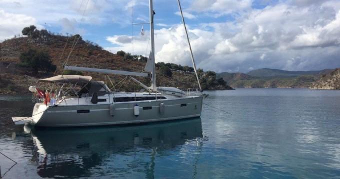 Alquiler de barcos Fethiye barato de Cruiser 37