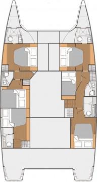 Alquiler Catamarán en Donji Seget - Fountaine Pajot Saba 50