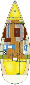 Alquiler de barcos Gouviá barato de Oceanis 361