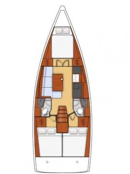 Alquiler Velero en Ionian Islands - Bénéteau Oceanis 38.1