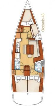 Alquiler de barcos Bénéteau Oceanis 43 enGouviá en Samboat