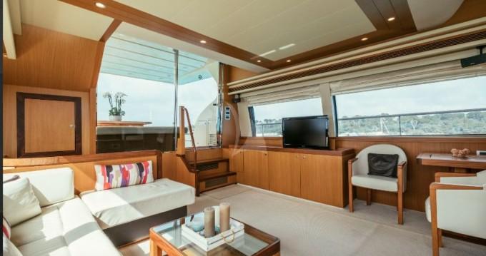 Alquiler Yate en Cannes - Ferretti Altura 690