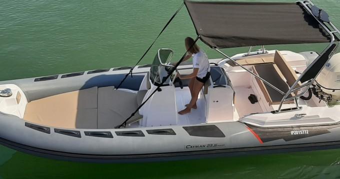 Alquiler Neumática en Fréjus - Ranieri Cayman 23 Sport