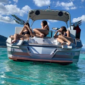 Alquiler de barcos Mastercraft X26 enSevrier en Samboat