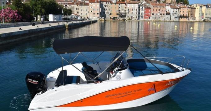 Alquiler de barcos Okiboats Barracuda 545 Open enRovinj en Samboat