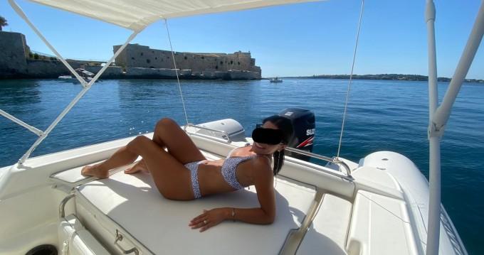 Alquiler Neumática en Siracusa - Joker Boat Clubman 26