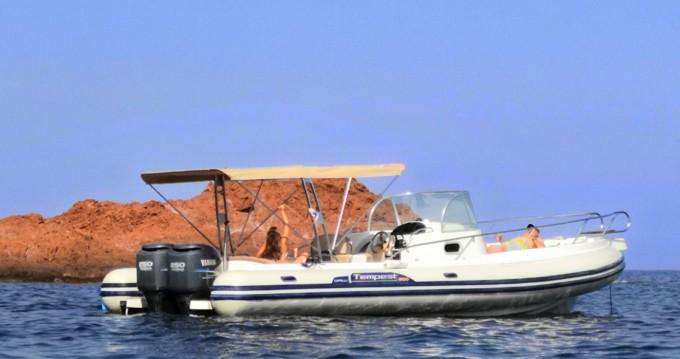 Alquiler de barcos Capelli Tempest 900 WA enMandelieu-la-Napoule en Samboat