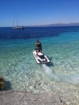 Alquiler de Moto de agua, con o sin patrón Yamaha Vela Luka