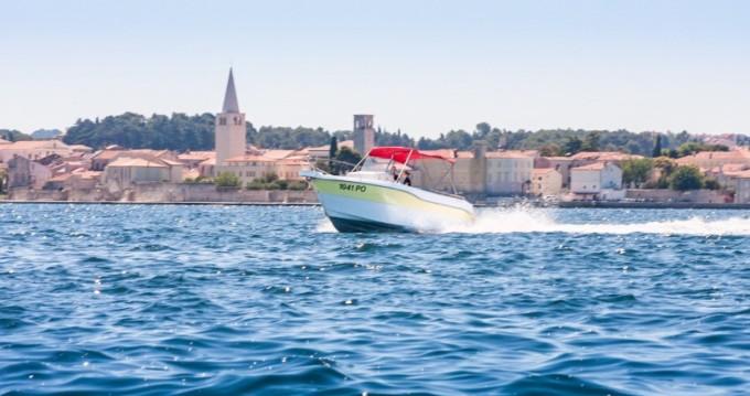 Alquiler de barcos Orka 740 open enVrsar en Samboat