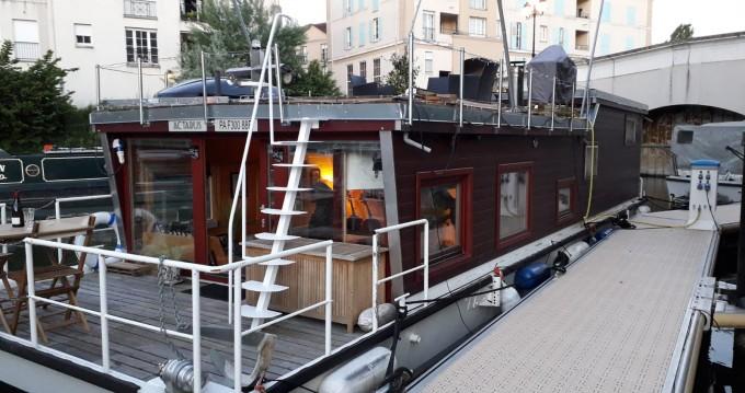 Alquiler de Hausboty Houseboat en Cergy