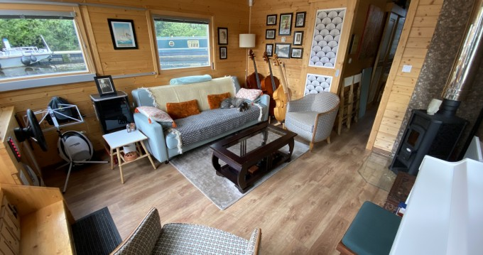 Hausboty Houseboat entre particulares y profesional Cergy