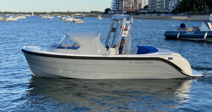 Alquiler de barcos oudhuijzer 616 Tender Électrique enArcachon en Samboat