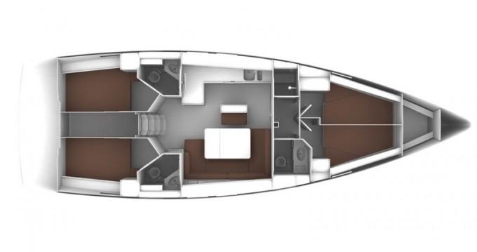 Bavaria Cruiser 46 entre particulares y profesional Skiathos