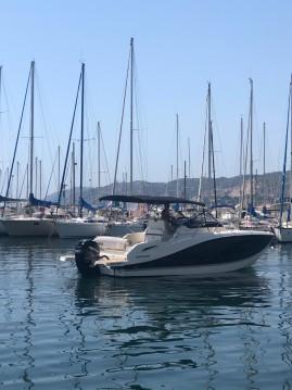 Alquiler de barcos Quicksilver Activ 875 Sundeck enMarseille en Samboat
