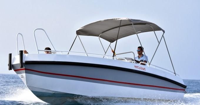 Alquiler Lancha Gasparet con título de navegación