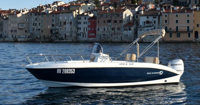Alquiler Lancha en Rovinj - Idea Marine IDEA 58