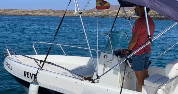 Alquiler Lancha en Arona - Aquamar Samoa