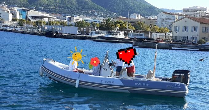 Alquiler de yate Toulon - Zodiac Medline 580 en SamBoat