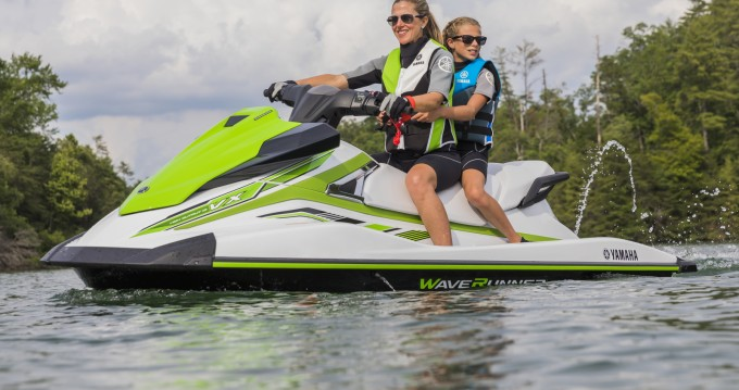 Alquiler Lancha Yamaha con título de navegación
