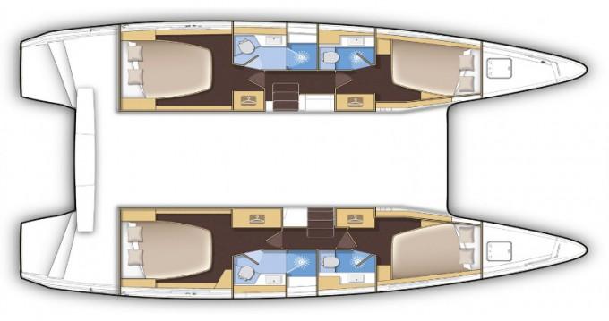 Alquiler Catamarán en Eden Island - Lagoon Lagoon 42