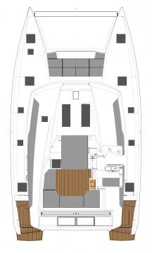 Alquiler de Catamarán, con o sin patrón Fountaine Pajot Atenas