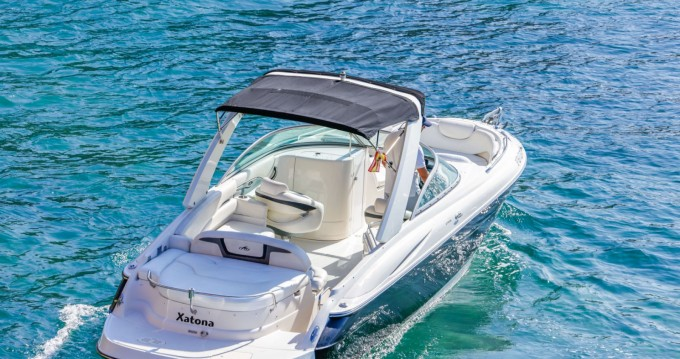 Alquiler Lancha en Ibiza (Ciudad) - Monterey 278 SS