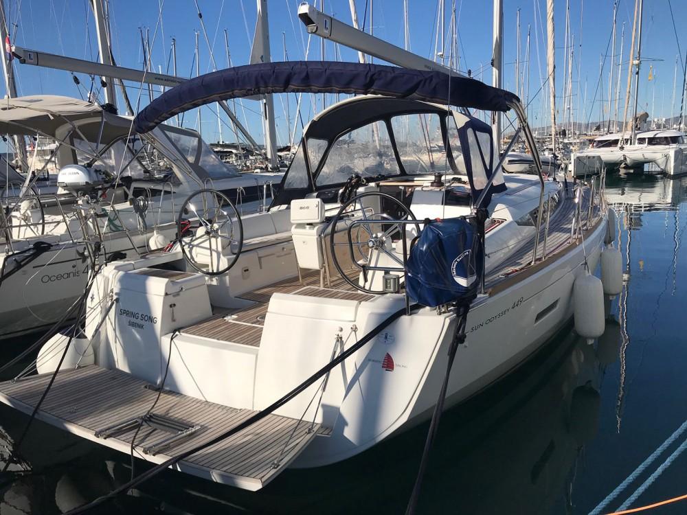 Alquiler de yate  - Jeanneau Sun Odyssey 449 owner version  en SamBoat