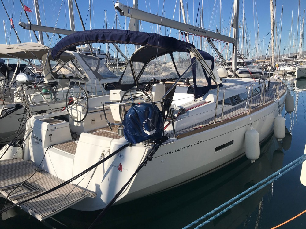Alquiler de barcos Jeanneau Sun Odyssey 449 owner version  en en Samboat