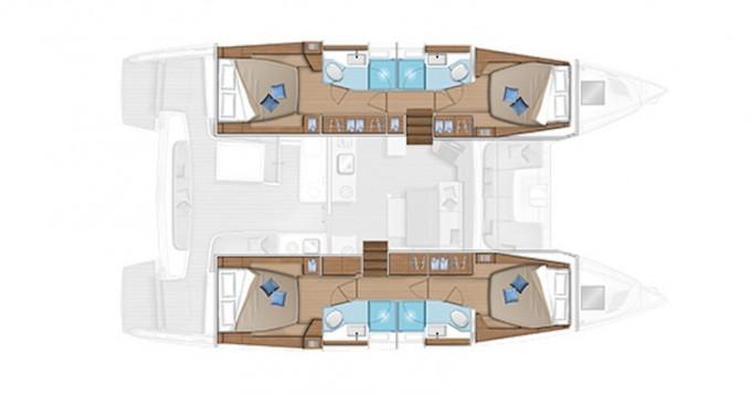Alquiler de barcos Álimos barato de Lagoon 46